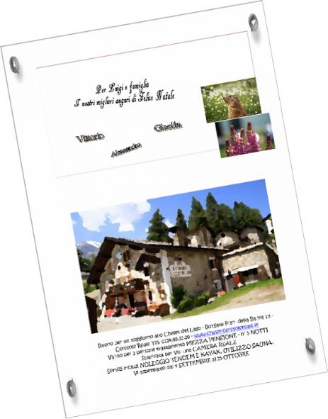 Fai un regalo - Albergo Ristorante Chalet del lago a Ceresole Reale
